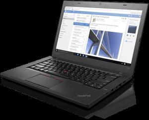 Zaledwie 14,1 calowy ekran Full HD, 1,7 kilograma wagi i 14 godzin pracy na pełnej baterii - te trzy cechy charakteryzują Lenovo ThinkPad T460