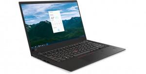 Lenovo ThinkPad X1 Carbon 5 to podświetlana klawiatura, 14,1 cala ekranu, system operacyjny Windows 10, mocny procesor Core i5 siódmej generacji, 8 giga pamięci ram, matowa matryca, 256 giga na dysku SSD, pojemna bateria, jeden port HDMI, porty typu USB, wbudowany mikrofon i niska masa własna